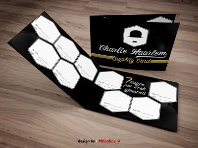 CHAARLIE HAARLEM LOYALITY CARD Voorbeeld